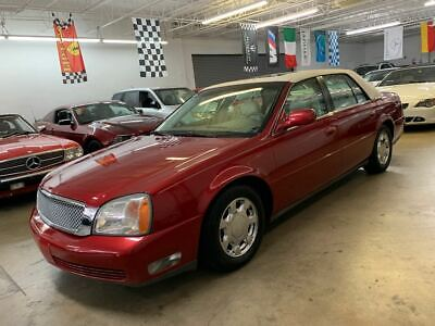 2000 Cadillac DeVille Northstar Cadillac DeVille Northstar V8 Low Miles Garage Kept Sunroof Chrome Wheels Loaded