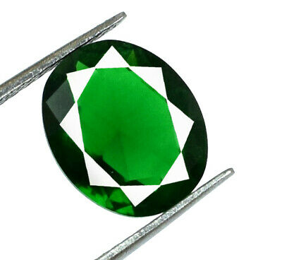 Colombian Green Emerald 3.25 Ct Ring Size Gemstone Natural Oval AGSL Certified