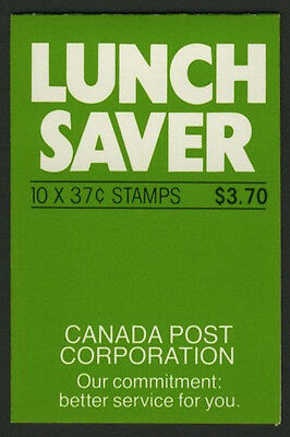 "Canada 1163a Booklet BK97b MNH ""Lunch Saver"", Parliament Building"