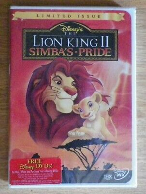 The Lion King II: Simba's Pride (DVD, 1999) Brand New Sealed