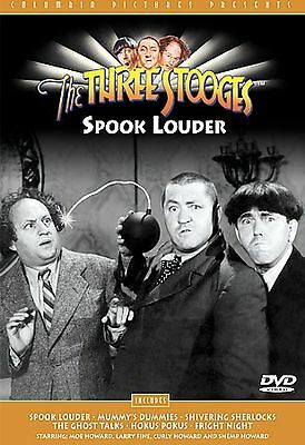 THE THREE STOOGES - SPOOK LOUDER (DVD) 3 Larry Moe Curly Howard SEALED NEW