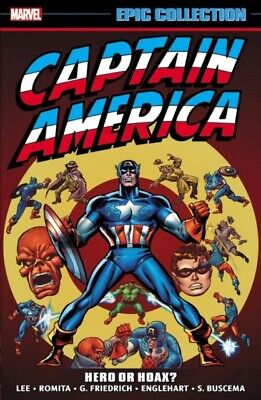 Captain America Epic Collection Hero Or , 9781302910037