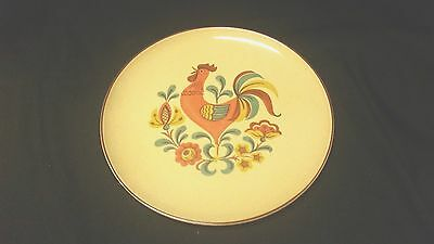 Taylor Smith Taylor REVEILLE (RED TRIM) Dinner Plate