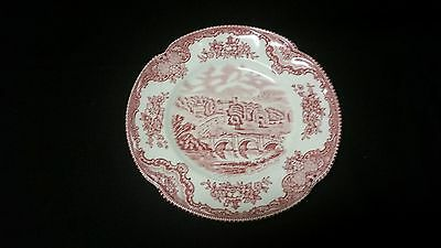 Johnson Brothers Old Britain Castle Pink Bread Plate