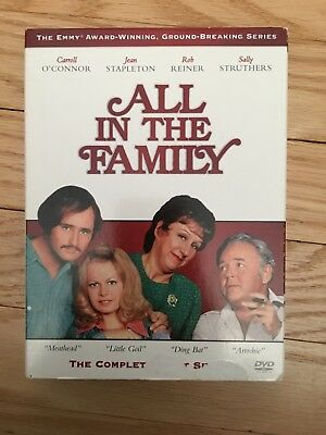 All In The Family - Box Set - Complete First (1) Season - Used - Free S/h (M5)