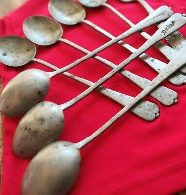 Ancient Egyptian Silver Spoons