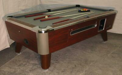 Valley Cougar Commercial 7' Coin-Op Bar Size Pool Table Model Zd-4 In Grey