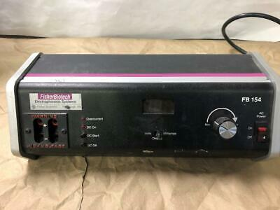 WORKS WELL, Fisher Biotech FB154 Electrophoresis Power Supply
