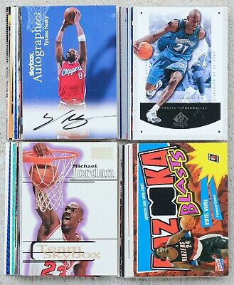 Wholesale Lot of Basketball Sports Cards NBA