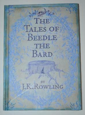 The Tales Of Beedle The Bard - J.K. Rowling - First Edition - Bloomsbury