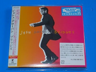 2018 JAPAN JOSH GROBAN BRIDGES DIGI SLEEVE CD w/2 BONUS TRACKS