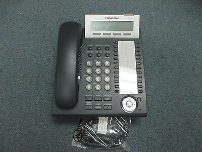 Panasonic KX-DT333 B 24 Button Digital Display Speaker Telephone BK KX-TDE100