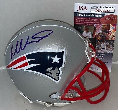 7065be13580 TY LAW NEW England Patriots Signed Autographed Michigan Replica ...