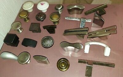 ASSORTED Vintage Decorative Metal Drawer PULL KNOBS Kitchen Cabinets Furniture