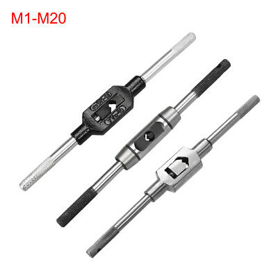 Tap Wrench M1-M20 Adjustable Bar Taps Holder Straight Reamer Tapping Wrench