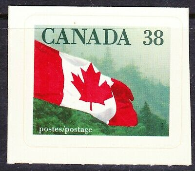 Canada No 1191, Quick Stick Booklet: Flag Over Forrest,  Mint Nh