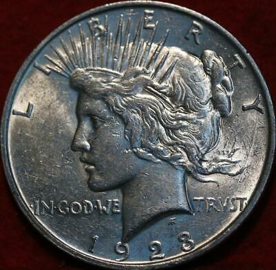 1923-D Denver Mint Silver Peace Dollar