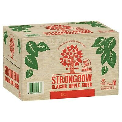 Strongbow Classic Apple Cider Case 4x6x355ml Bottles