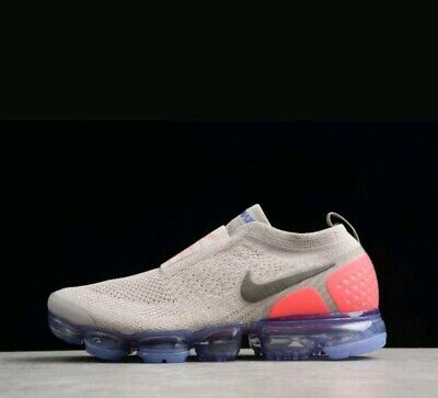 Size 13 Men's Nike Air Vapormax Flyknit MOC 2 Moon Particle solar Red AH7006-201