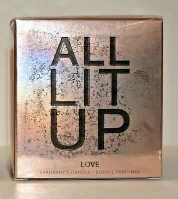 New Victoria/'s Secret ALL LIT UP TEASE FRAGRANCE CANDLE 218 G// 7.7 OZ With Box