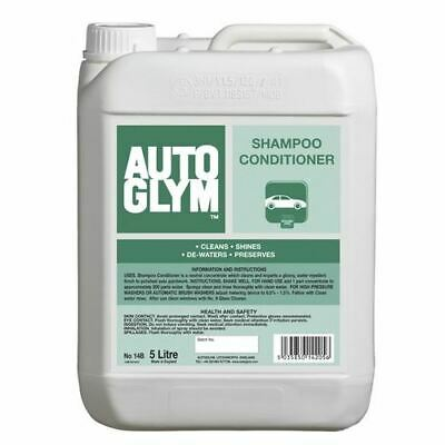 AutoGlym Shampoo Conditioner 5L Low Foam Cleaning Shampoo Water Repellent Finish