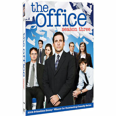 The Office - Season Three DVD, Rainn Wilson, Steve Carell, Jenna Fischer, John K