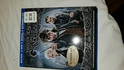Fantastic Beast: The Crimes of Grindelwald (Blu-ray, DVD, Digital) BRAND NEW