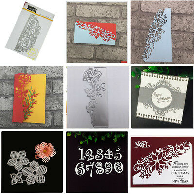 Metal Cutting Dies Stencil Scrapbooking Card Paper Embossing Craft Album DIY JT
