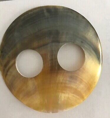 MOTHER OF PEARL SHELL SARONG BUCKLE ROUND  LOVELY COLOUR NEWStyle 01