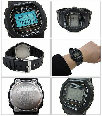 DW-5600E-1V Black G-Shock Casio Watches Digital Resin Bands