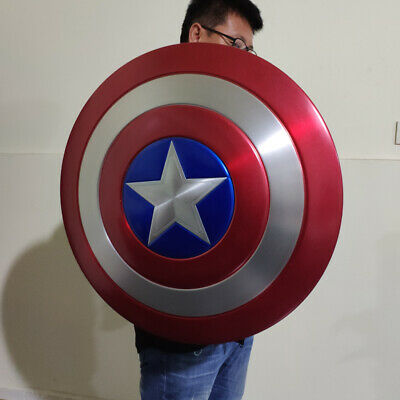 1:1 Captain America Shield Full Aluminum Metal Shield Cosplay Painted