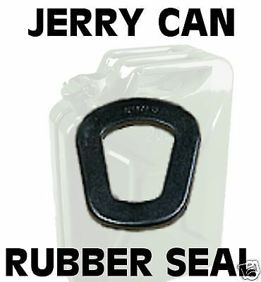 RUBBER SEAL gerry jerry can gasket army spec jerrycan