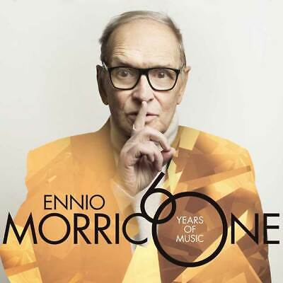 "CD ENNIO MORRICONE ""60 YEARS OF MUSIC"". New and sealed"