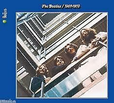 "2CD THE BEATLES ""BLUE ALBUM 1967 1970 -REMASTERED-"". New and sealed"