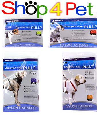 Dog Puppy Harness ANCOL Nylon FOR YOUR PET SMALL MEDIUM LARGE X-LARGE