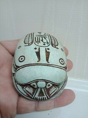 The Pharaonic Scarab symbolized happiness in the belief of the ancient Egyptians