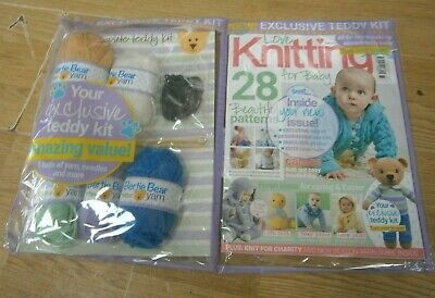 Love Craft Series magazine #73 APR 2019 Knitting for Baby + Teddy Kit with Yarn