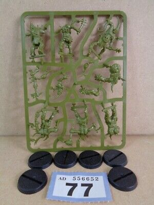 Warhammer 40,000 Chaos Space Marines  Death Guard Poxwalkers on sprue 77