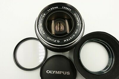 [ Excellent+++++] Olympus OM-SYSTEM G.Zuiko Auto-W 35mm f/2.8 MF Lens From Japan
