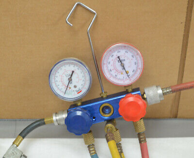 Interdynamics IDQ Complete R-134a Air Conditioning Manifold Gauge Set