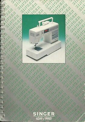 Instruction Book (owners manual)  Singer 6269/9900 Sewing Machine