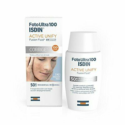 Foto Ultra 100 ISDIN Active Unify Fusion Fluid SPF 100+  50ml