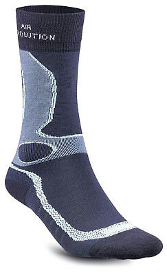 Meindl Damen air Revolution Dry Outdoor & Funktions- Socken marine türkis