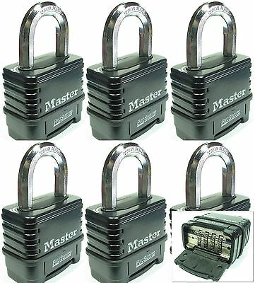 Combination Lock Set by Master #1178 (Lot 6) Resettable Weather Sealed Carbide