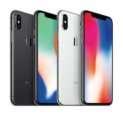 Apple iPhone X - 64GB 256GB - Verizon AT&T T-Mobile Metro PCS Smartphone