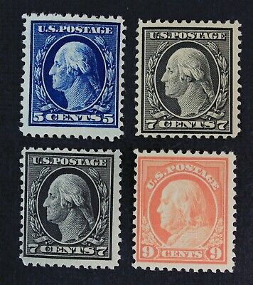 CKStamps: US Stamps Collection Scott#504 507 509 Mint 2NH 2H OG
