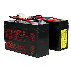 Razor Power Core E100 Battery with Reset Wires (2 x 12V/5Ah) (3 Hole/2 Pin)