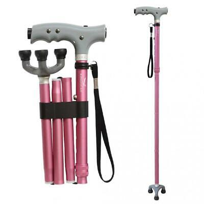 KingGear Travel Adjustable Folding Canes and Walking Sticks for Men and