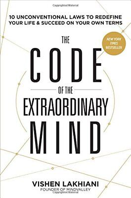 Code of the Extraordinary Mind, The by Vishen Lakhiani 1623367085 The Cheap Fast