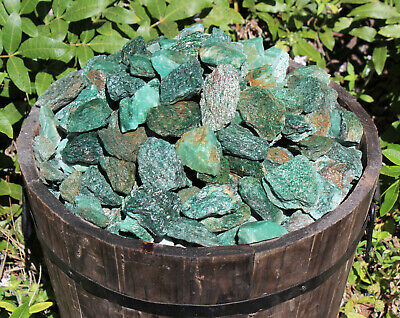 1000 Carat Bulk Lot Natural Rough Fuschite, Raw Gemstone (200 Grams, Fuchsite)